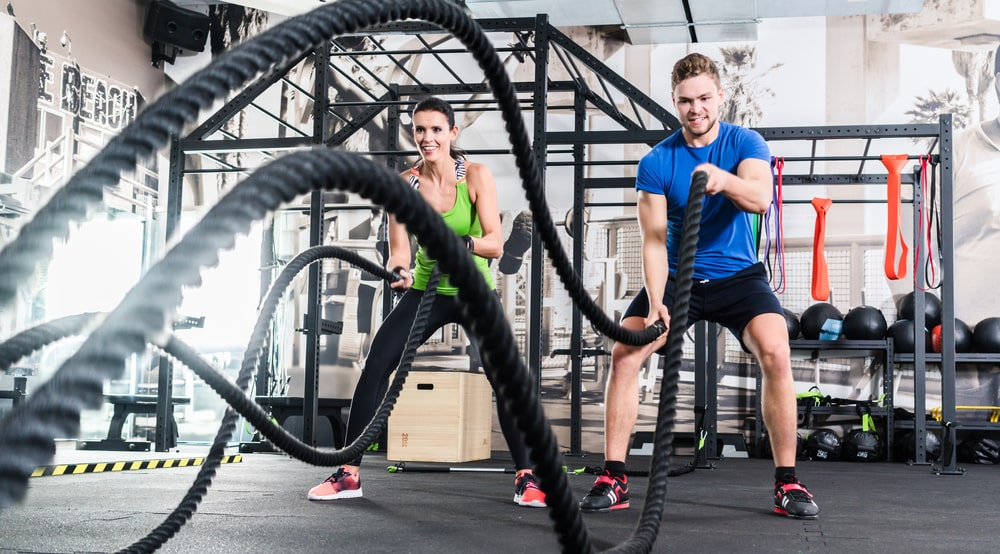 battle rope cross training