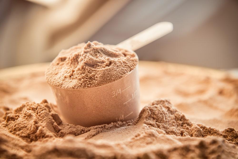 protéines en poudre crossfit